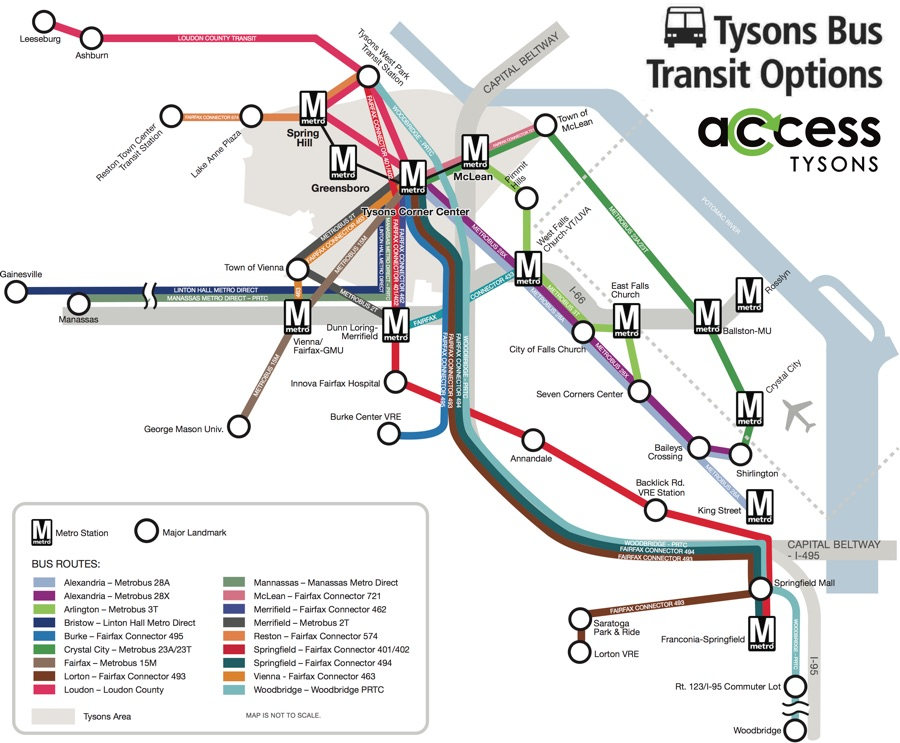 Dc Subway Map Silver Line.Tysons Corner Center Visit Us